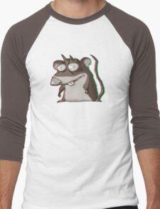 Aberration psychedelic Rar Men's Baseball ¾ T-Shirt