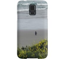 Penguin Daddy out to lunch Samsung Galaxy Case/Skin