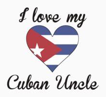 I Love My Cuban Uncle Kids Tee