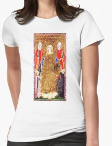 Medieval Emperor Womens Fitted T-Shirt