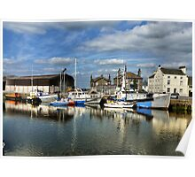 Glasson Dock. Poster