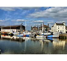 Glasson Dock. Photographic Print