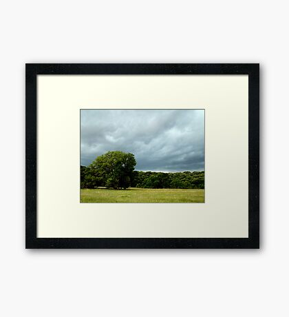 God Of All The Earth And Sky Framed Print