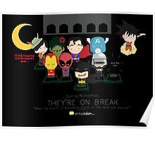 Ramadhan: Superheroes on a Break Poster