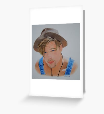 Young Bradley.. Greeting Card