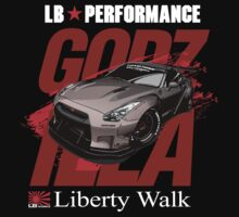 Liberty Walk GTR R35  by rizadeli