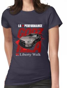 Liberty Walk GTR R35  Womens Fitted T-Shirt