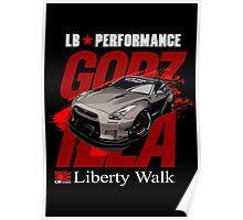 Liberty Walk GTR R35  Poster