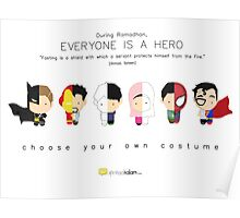 Ramadhan: Everyone is a Hero Poster