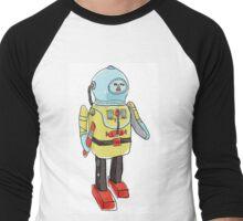 space captain toy cute art Men's Baseball ¾ T-Shirt