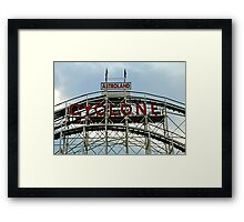 The Cyclone Framed Print