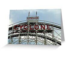 The Cyclone Greeting Card