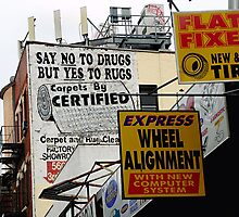 Say No to Drug, But Yes to Rugs by joAnn lense