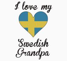 I Love My Swedish Grandpa One Piece - Short Sleeve