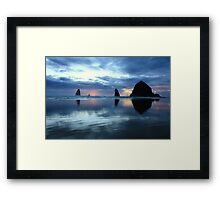 Oregon Sunset Framed Print
