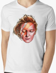 Tilda Swinton - Aladdin Sane Mens V-Neck T-Shirt