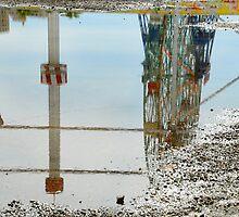 Reflection of the Wonder Wheel by joAnn lense