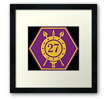 27 Infantry Battalion (Ireland) Framed Print
