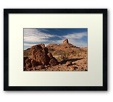 Cobra Mountain Framed Print