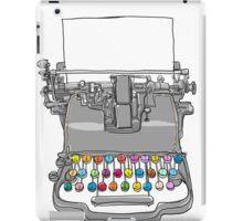 old Typewriter cute art iPad Case/Skin