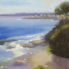 Along the Esplanade, Cronulla by Tash  Luedi Art