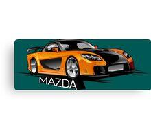 Mazda RX-7 Veilside Canvas Print