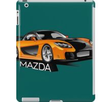 Mazda RX-7 Veilside iPad Case/Skin