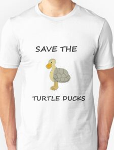 SAVE THE TURTLE DUCKS- AVATAR/LOK T-Shirt