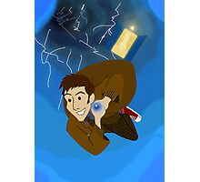 10th Doctor in the Vortex Photographic Print