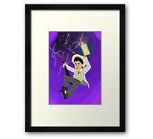 7th Doctor in the Vortex Framed Print