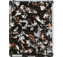 graffiti black iPad Case/Skin