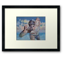 Runner Framed Print