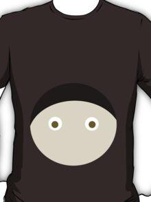 Black Hair Brown Eyed Boy T-Shirt