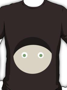 Black Hair Green Eyed Boy T-Shirt