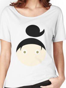 Black Hazel Eyed Girl Women's Relaxed Fit T-Shirt