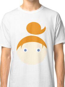 Red Hair Blue Eyed Girl Classic T-Shirt