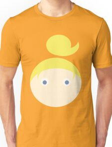 Blonde Hair Blue Eyed Girl Unisex T-Shirt