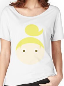 Blonde Hair Brown Eyed Girl Women's Relaxed Fit T-Shirt