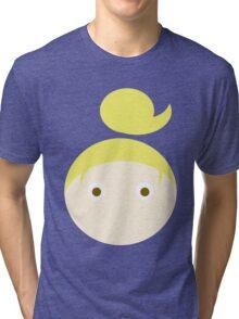 Blonde Hair Brown Eyed Girl Tri-blend T-Shirt