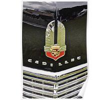 Cadillac 62 Series Convertible Sedan grill (1941) Poster