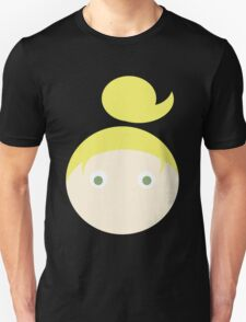 Blonde Hair Green Eyed Girl T-Shirt
