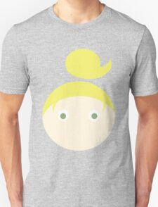 Blonde Hair Green Eyed Girl Unisex T-Shirt