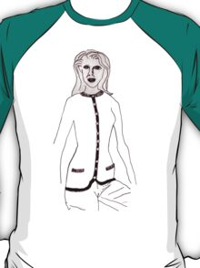 Knitted Lady #4 T-Shirt