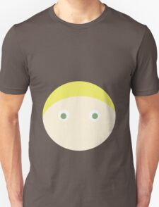 Blonde Hair Green Eyed Boy T-Shirt