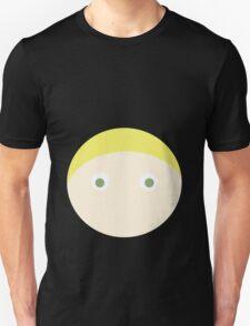 Blonde Hair Green Eyed Boy T-Shirt