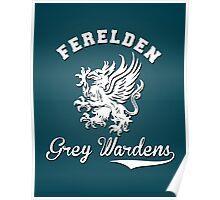 Ferelden Grey Wardens - Dragon Age Poster