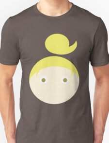 Blonde Hair Hazel Eyed Girl T-Shirt