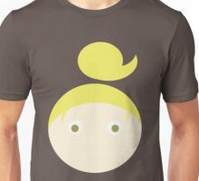 Blonde Hair Hazel Eyed Girl Unisex T-Shirt