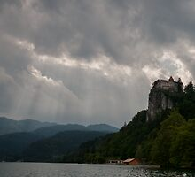 Bled Castle Backdrop by David Baird