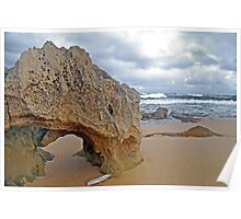Beachport Limestone Arch  Poster